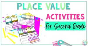 place value activities second grade